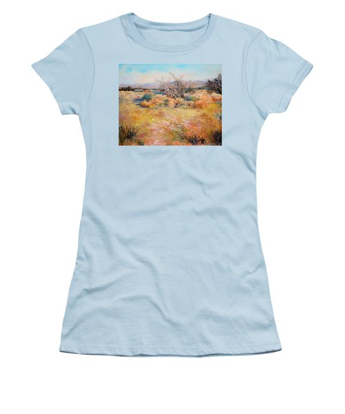 Smokey Day Women's T-Shirt (Junior Cut) by M Diane Bonaparte