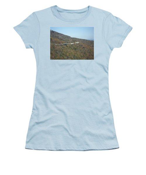 Smokies 17 Women's T-Shirt (Junior Cut) by Val Oconnor