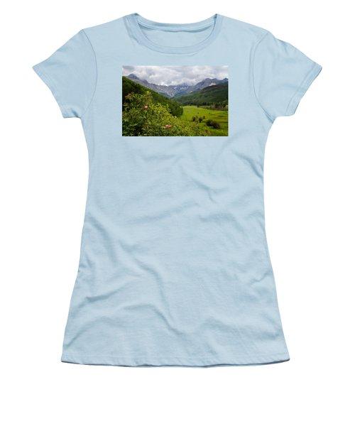 Sneffles Range Women's T-Shirt (Junior Cut)