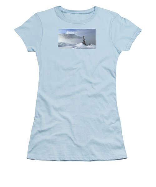 Snow And Silence Women's T-Shirt (Athletic Fit)