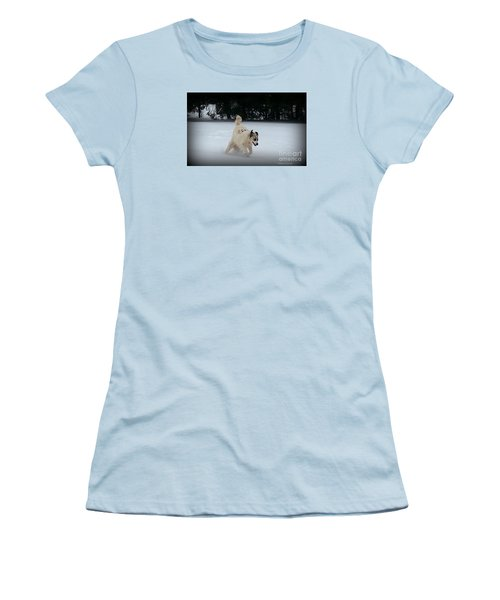 Snow Babies Women's T-Shirt (Athletic Fit)