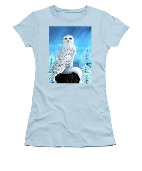 Snowy Delight Women's T-Shirt (Athletic Fit)