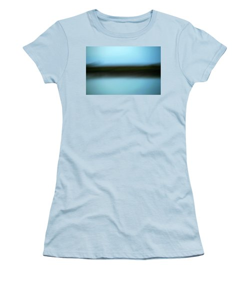 Women's T-Shirt (Junior Cut) featuring the photograph Soft Reflections by Marilyn Hunt