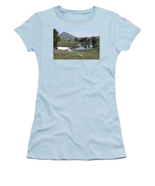Soldier Lake And Peak Women's T-Shirt (Junior Cut) by Jenessa Rahn