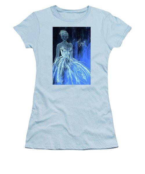 Something Blue Women's T-Shirt (Junior Cut) by P J Lewis