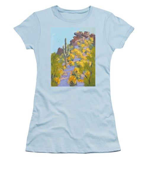 Sonoran Springtime Women's T-Shirt (Athletic Fit)
