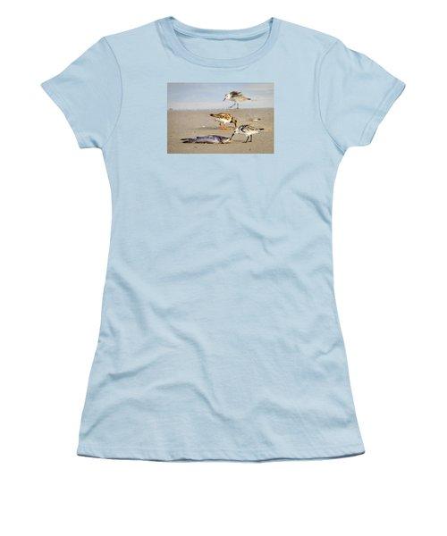 Women's T-Shirt (Junior Cut) featuring the photograph Sorry Buddy by Debra Martz