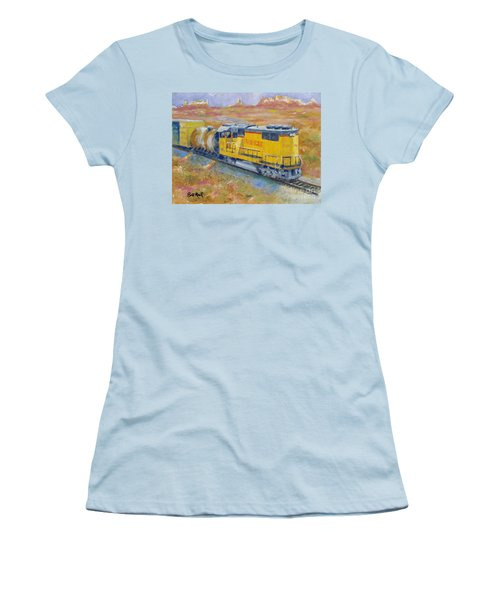 South West Union Pacific Women's T-Shirt (Athletic Fit)