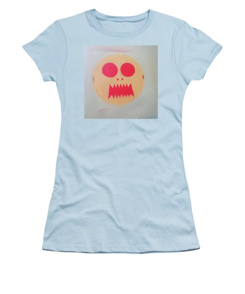 Women's T-Shirt (Junior Cut) featuring the photograph Space Alien by Art Block Collections