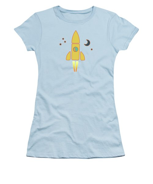 Spaceship Women's T-Shirt (Athletic Fit)