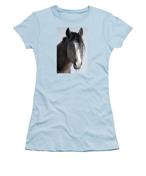Spirit Horse Women's T-Shirt (Junior Cut) by Lula Adams