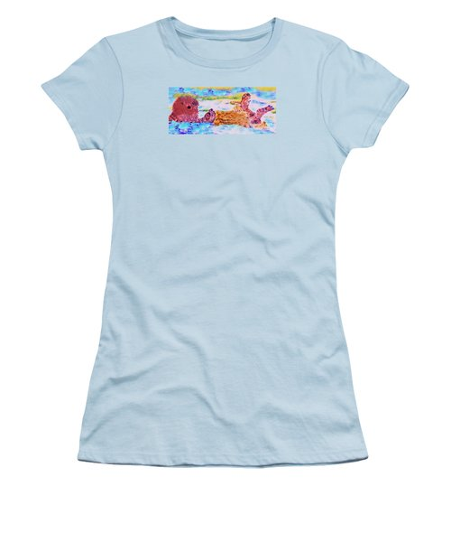 Splish Splash Women's T-Shirt (Athletic Fit)