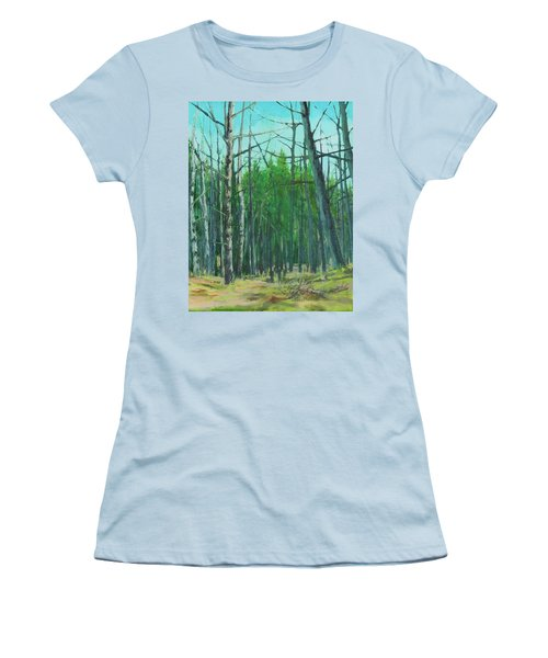 Spring Aspens Women's T-Shirt (Athletic Fit)