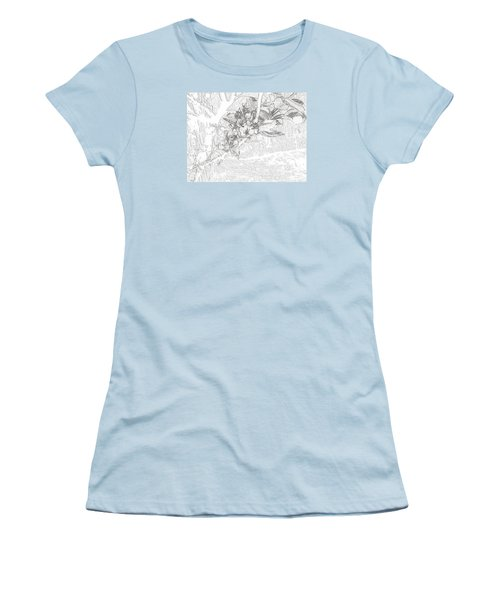 Spring Blossums Women's T-Shirt (Athletic Fit)