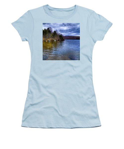 Spring Day On Limekiln Women's T-Shirt (Junior Cut) by David Patterson