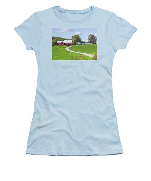 Spring Farm Women's T-Shirt (Junior Cut) by Tim Kirchoff