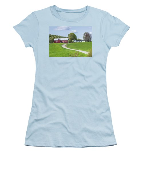 Spring Farm Women's T-Shirt (Athletic Fit)