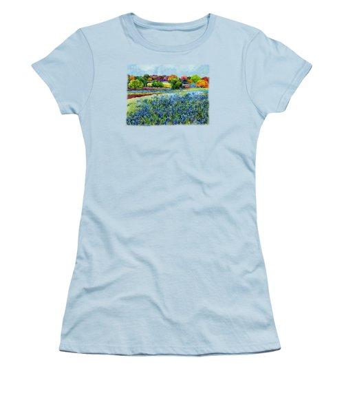 Spring Impressions Women's T-Shirt (Junior Cut) by Hailey E Herrera