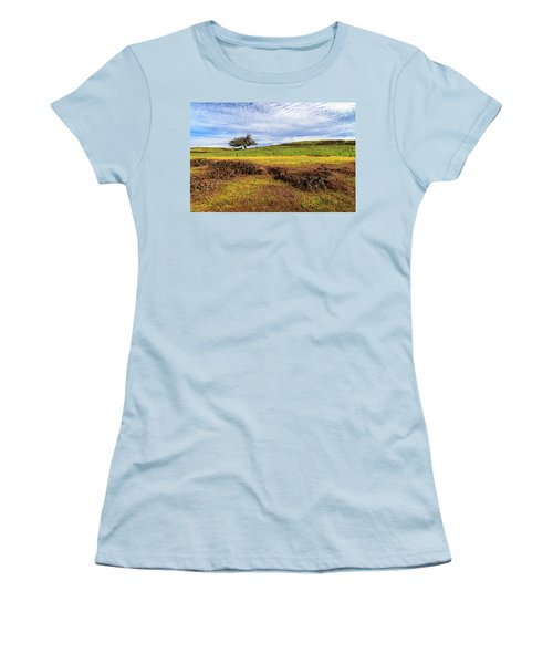 Women's T-Shirt (Junior Cut) featuring the photograph Spring On North Table Mountain by James Eddy
