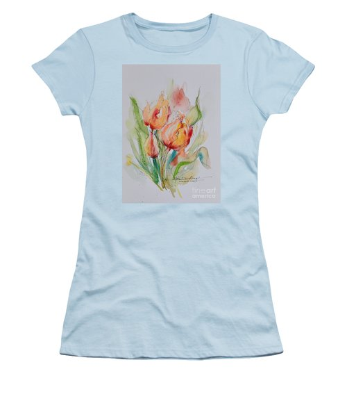 Spring Smiles Women's T-Shirt (Athletic Fit)