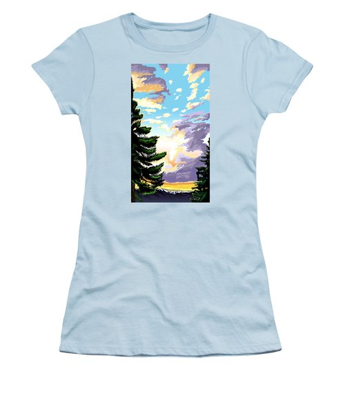 Spring Sunrise 01 Women's T-Shirt (Athletic Fit)