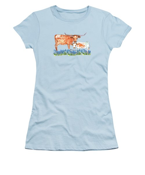 Springs Surprise Watercolor Painting By Kmcelwaine Women's T-Shirt (Athletic Fit)