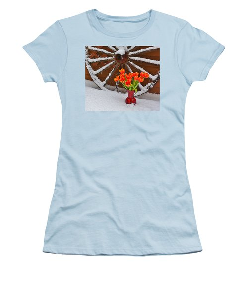 Springtime In Colorado Women's T-Shirt (Athletic Fit)