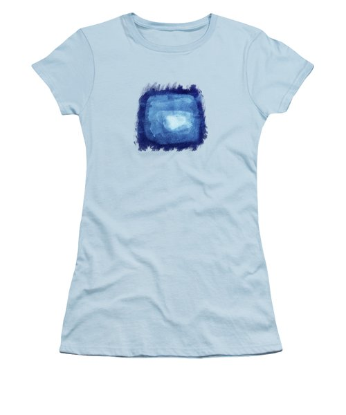 Squaring The Moon Women's T-Shirt (Athletic Fit)