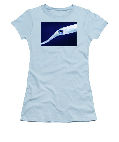 Women's T-Shirt (Junior Cut) featuring the photograph Squid by Anthony Jones