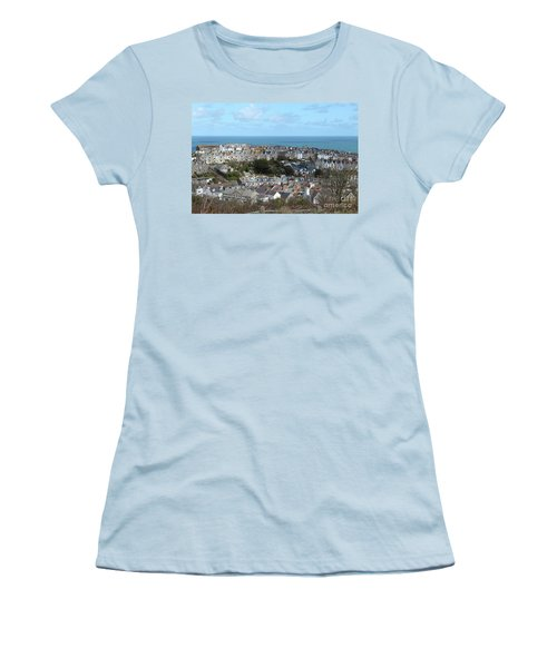 Women's T-Shirt (Junior Cut) featuring the photograph St Ives, Cornwall, Uk by Nicholas Burningham