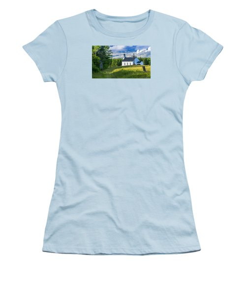 St. Margaret's Of Scotland Women's T-Shirt (Junior Cut) by Ken Morris