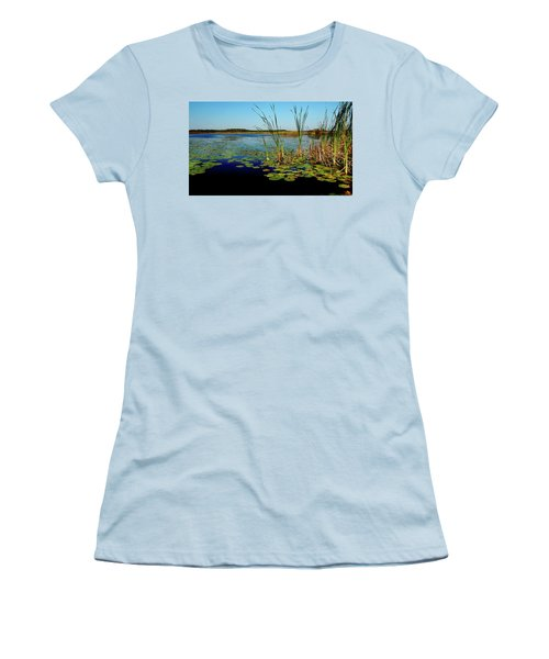 St. Mark's Lake Women's T-Shirt (Athletic Fit)