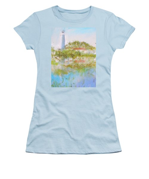 St Marks Lighthouse Women's T-Shirt (Athletic Fit)