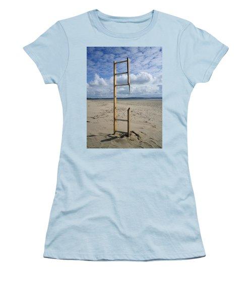 Stairway To Heaven Women's T-Shirt (Junior Cut) by Richard Brookes