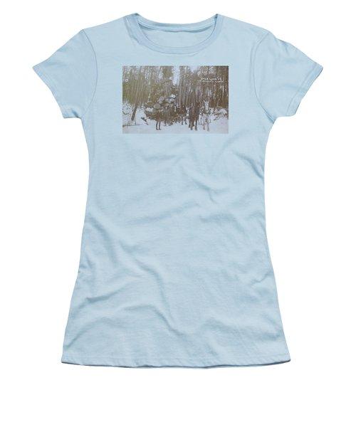 Women's T-Shirt (Junior Cut) featuring the photograph Star Load by Tammy Schneider