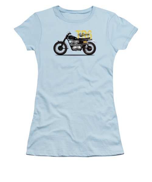 Steve Mcqueen Desert Racer Women's T-Shirt (Athletic Fit)