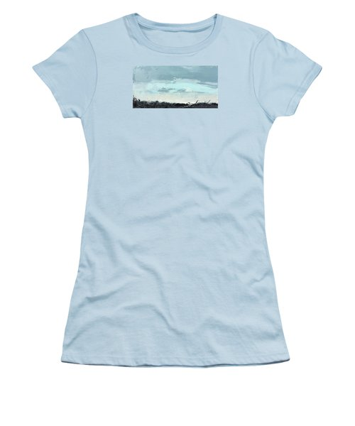 Still. In The Midst Women's T-Shirt (Junior Cut) by Nathan Rhoads