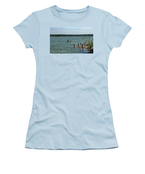 Stillhouse Lake Canoe - No.2016 Women's T-Shirt (Athletic Fit)