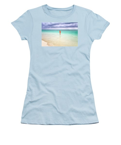 Stranded Women's T-Shirt (Junior Cut) by Nicki Frates