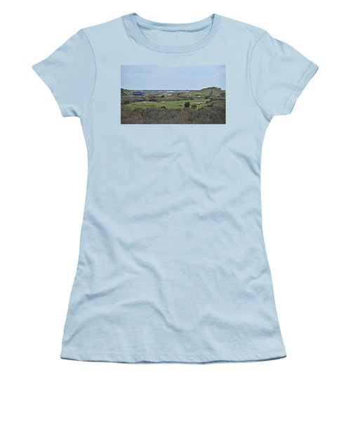Streamsong Golf Course Women's T-Shirt (Junior Cut) by Carol  Bradley
