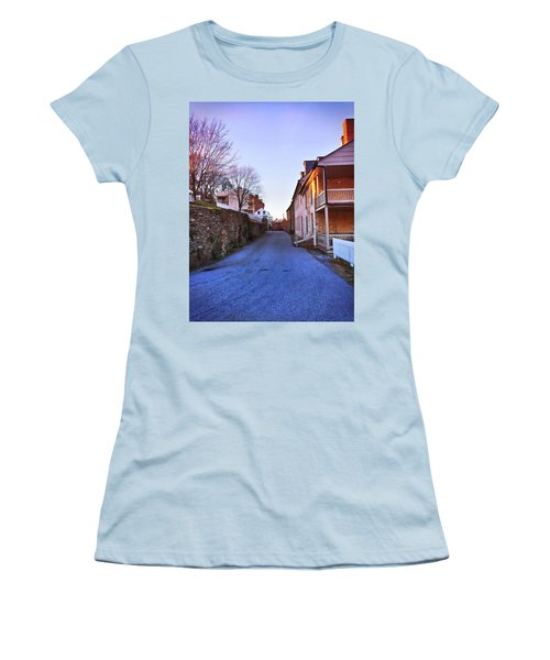 Streets Of Harpers Ferry Women's T-Shirt (Athletic Fit)