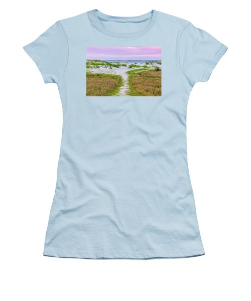 Sullivan's Island Natural Beauty Women's T-Shirt (Athletic Fit)