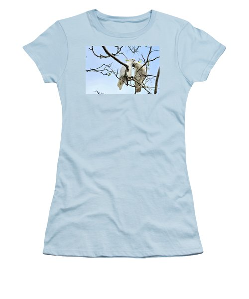 Sulphur Crested Cockatoos Women's T-Shirt (Athletic Fit)
