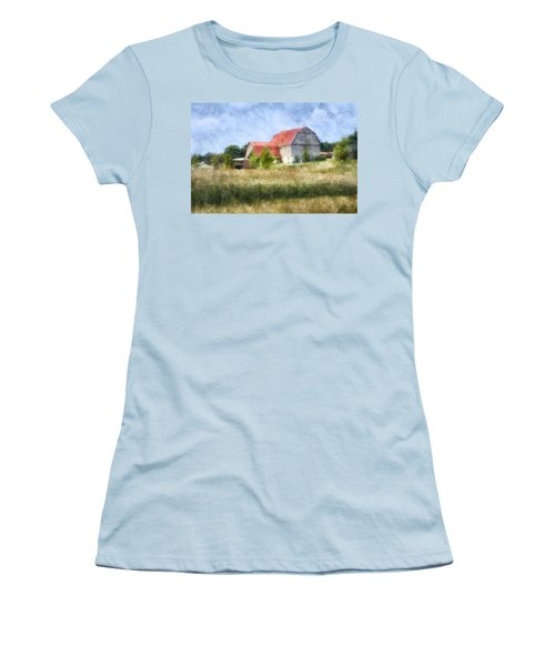 Summer Barn Women's T-Shirt (Junior Cut) by Francesa Miller