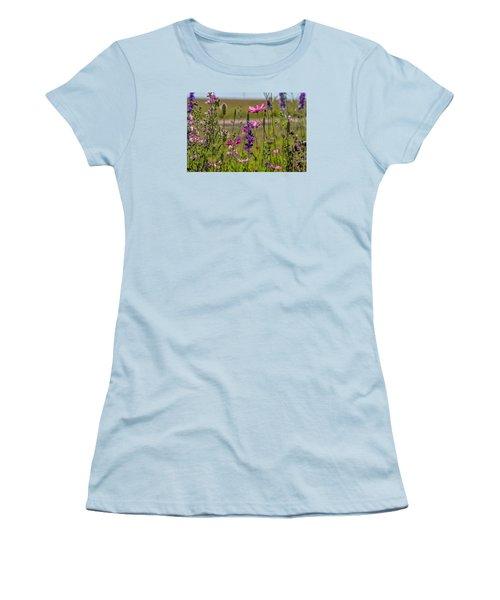 Summer Garden Women's T-Shirt (Junior Cut) by Alana Thrower