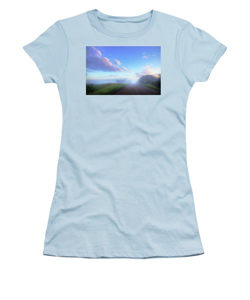 Summer Morning In Alberta Women's T-Shirt (Athletic Fit)