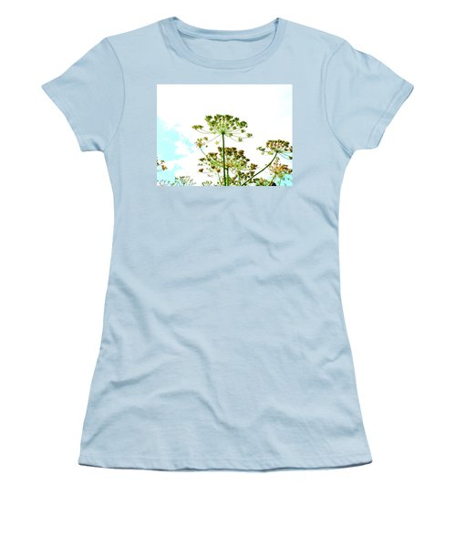 Summer Sky Women's T-Shirt (Athletic Fit)