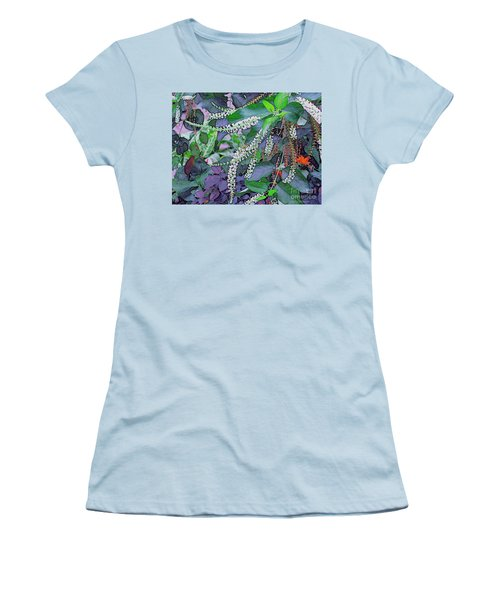 Summer White Women's T-Shirt (Athletic Fit)