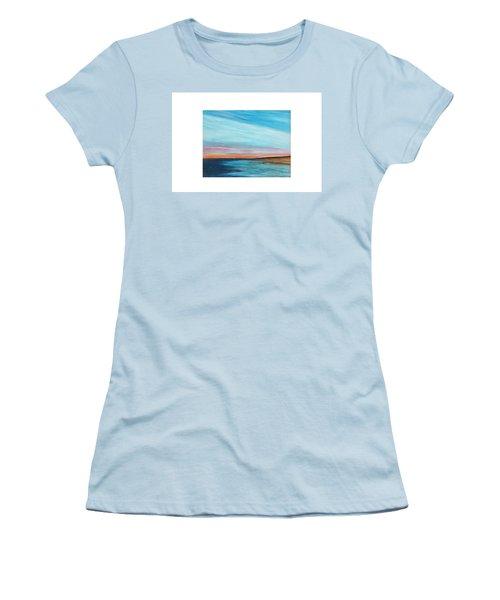 Sun Sliver Women's T-Shirt (Athletic Fit)