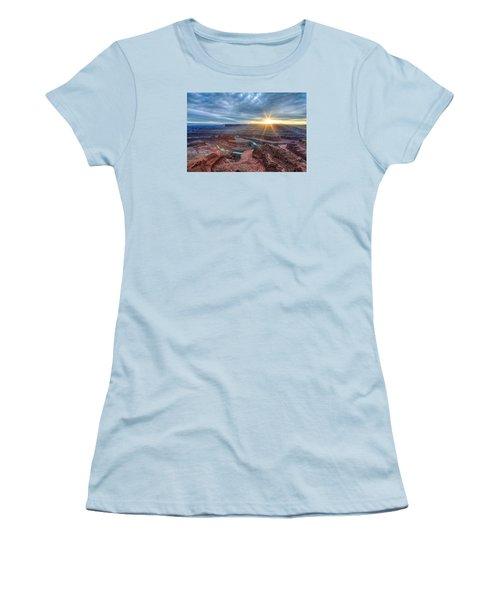 Sunburst At Dead Horse Point Women's T-Shirt (Athletic Fit)